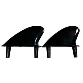 BIC Sport Surf - Softboard fins - side - black (x2)